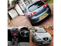 Seat Leon, 1.6 Petrol, 2007/57, Low Mileage, 3 Keys, 5 Doors, Immaculate Condition, AUX, Long MOT!