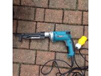 Makita autofeed screw gun
