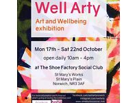 Well Arty an exhibition of art for wellbeing