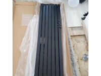 Designer Black Radiator