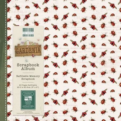 Gardenia Scrapbook Craft Memory Book Snapload Album 8x8
