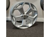 """18"""" Ford TST (Silver) style alloy wheels and tyres (5x108) Suits Ford Focus,Mondeo, Connect etc"""