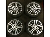Land Rover Discovery Range Rover Sport Vogue 20 inch alloy wheels & tyres off T5 T6 VW Transporter