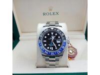 Men's Rolex GMT master 2 watch box set