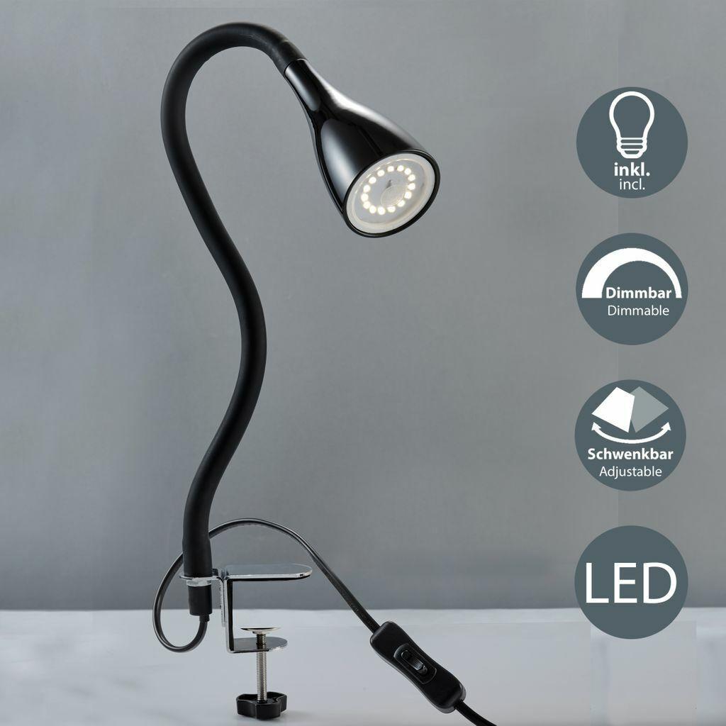Patentierte LED Leselampe Buchlampe Leselicht Buchlicht Klemmlampe Lampe Leuchte