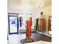 Various fashion shop fittings and equipment retail