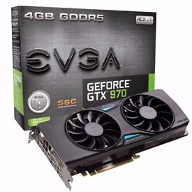 EVGA GTX 970 SSC (Super Super Clocked) GPU