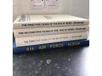 8th Air Force Album and 8th AF News 1975-1989 Collection John H Woolnough