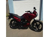 honda xl 125 v-7 in red 2008 very low mileage only 2017 miles