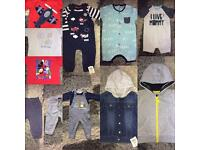 Baby Boys 6-9 Months clothes bundle. 13 items, some brand new with tags