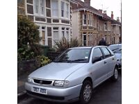 Seat Ibiza 1999 79k miles, full service history, 1 prev owner Mot until July, fair condition