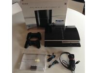 Sony PlayStation PS3 Console 80GB boxed inc 20 games