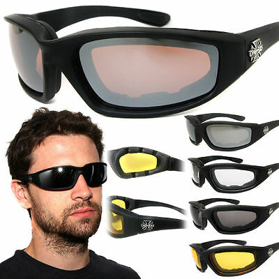 Chopper Wind Resistant Sunglasses Extreme Sports / Motorcycle Riding (Motorcycle Riding Glasses For Women)