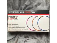 ResultSport Foam Padded Fitness Weighted Hoop