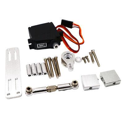 Car Parts - RC Upgrade Metal Gear Steering Servo for MN-D90 FJ-45 RC Model Car Parts