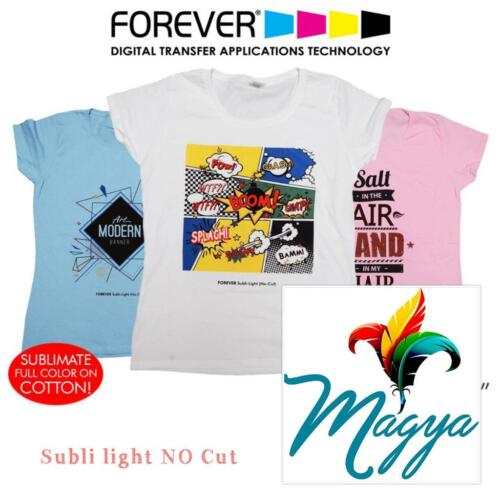 """Forever Subli Light (Not Cut) 8.5""""x11"""" 50 Sheets FREE SHIPPING"""