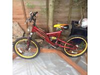 Boys Bike hardly used.