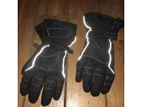 Thinsulate motorbike gloves & R.S. Motorbike leather jacket