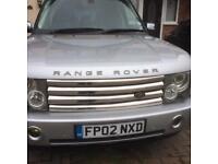 2002 Range Rover vogue V8 Auto