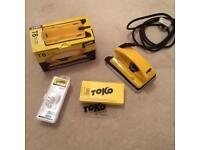 Toko ski/snowboard iron kit