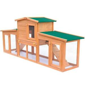Large Rabbit Hutch Small Animal House (SKU:170163)Free Delivery* Mount Kuring-gai Hornsby Area Preview