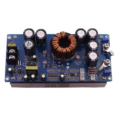 30a Dc-dc Buck Converter Power Supply Voltage Module In 20-70v Out 2.5-58v New