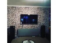 Professional tv wall mounting service from as little as £30