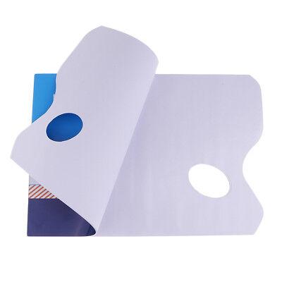 36 PAGE OIL & ACRYLIC PAINT DISPOSABLE MIXING PALETTE PAPER PAD TEAR OFF PAD - Palette Paper