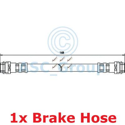 Apec BRAKING 168mm Bremsscheiben Bremssattel Flexible Gummi Schlauch HOS3092