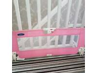 Babystart pink bed guard