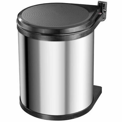 Hailo Cupboard Bin Waste Box Compact-Box Size M 15 L Stainless Steel 3555-101
