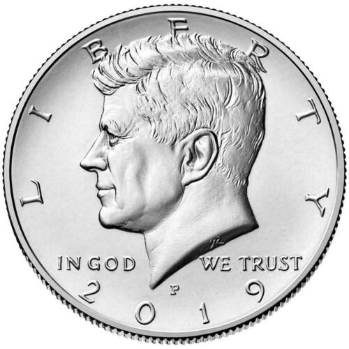 2019 Kennedy Half Dollar Set P&d (2 Coin Set) Bu Choice Quality No S/h # 3525