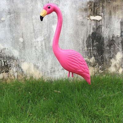 Realistic Large Pink Flamingo Garden Decoration Lawn Art Ornament Craft #3
