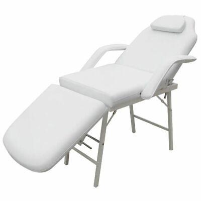 vidaXL Kosmetikstuhl Kosmetikliege Massageliege Massagebank Massagetisch Set