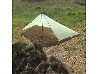 FOR SALE: Mountain Laurel Designs Cuben Fibre Monk Tarp.