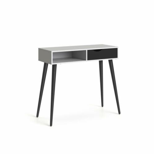 Marktplaats Sidetable Wit.Napoli Sidetable Zwart Wit Side Table Met Lade Haltafel
