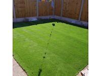 Artificial grass 4m x 5m £500 open to offers