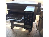 "Zanolli Pizza Oven, 20"" Conveyor belt, Nat Gas"