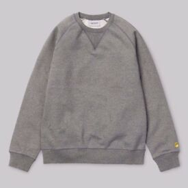 New Carhartt Chase Large Sweatshirts Black and Dark Heather