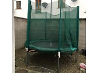 Trampoline 12ft with enclosure !!!! Very good condition