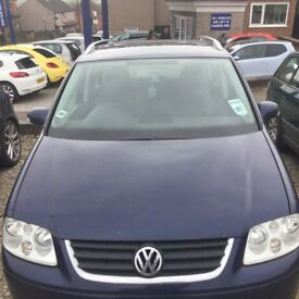 VW Touran 2.0 2006 and 1.9 2005 for breaking