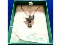 Hummingbird Pendent and Chain