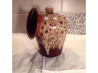 Foster's Pottery Salt Caddy