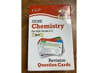 GCSE AQA Chemistry Revision Question Cards.
