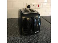Russell Hobbs 2-Slice Toaster, 1000 W, Black