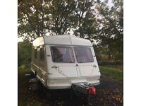ABI Jubilee Hearld Supreme 1994/5 4 berth touring caravan
