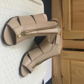 Cut out sandals