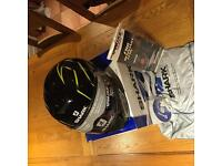 Shark Skwal Flynn - Black / Yellow / Anthracite helmet