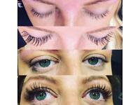 Eyelashes **offer**