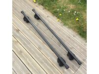 Thule lockable roof bars and footpack with 2 keys